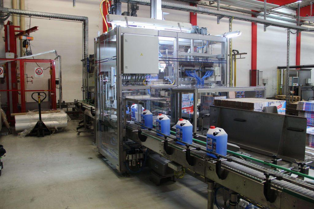 Balici stroj M.A.S. Automation kanystry 1
