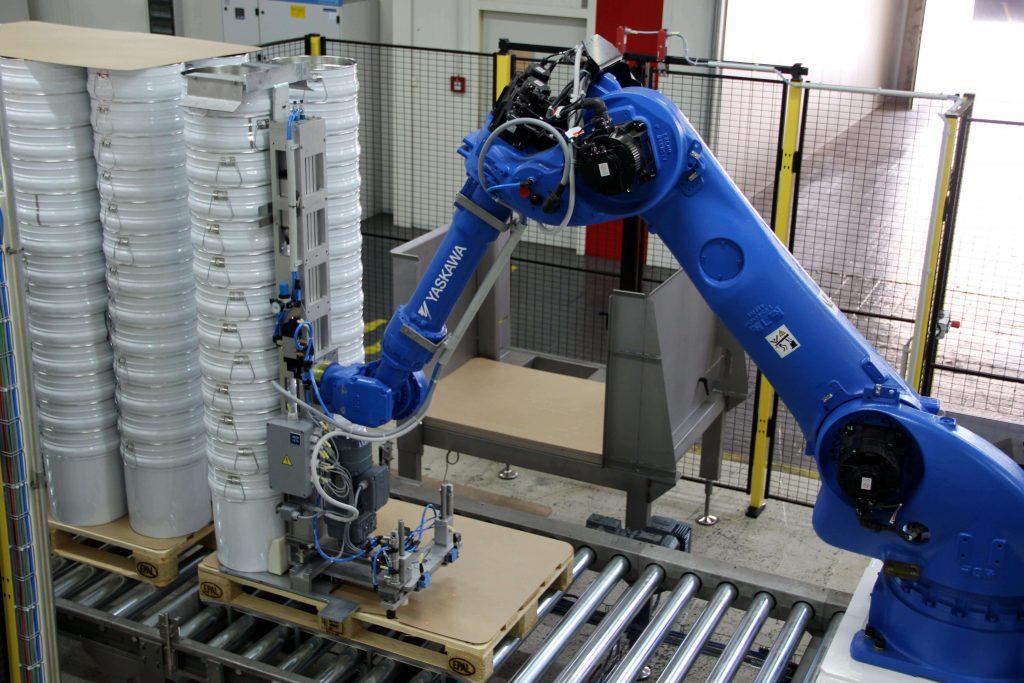 Paletizatory M.A.S. Automation 4 1 2